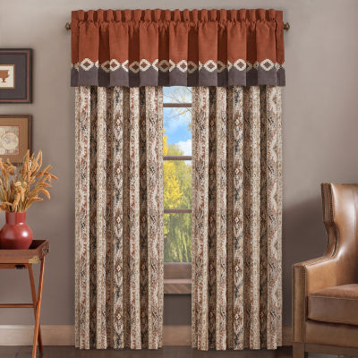 Queen Street Baldwin Rod-Pocket Curtain Panels