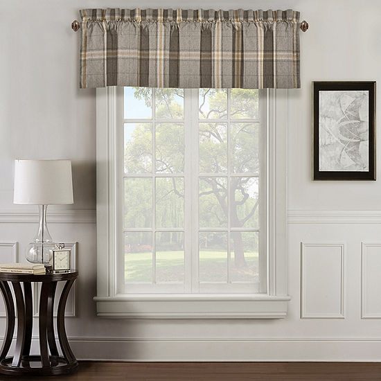 Queen Street Jamison Rod-Pocket Tailored Valance