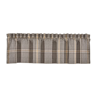 Queen Street Jamison Rod-Pocket Straight Valance