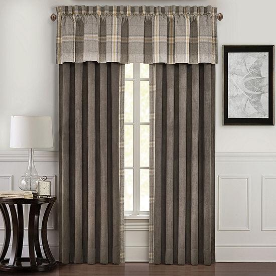 Queen Street Jamison Rod-Pocket Curtain Panels