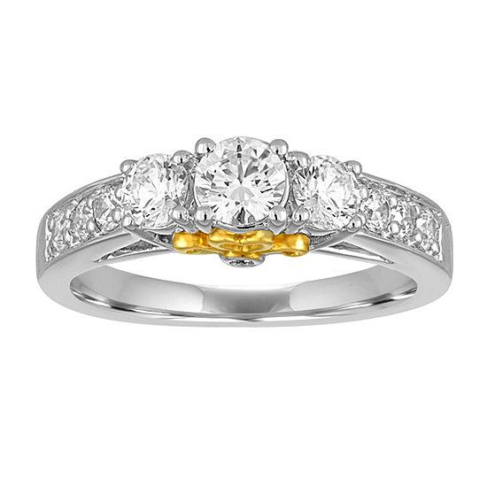 I Said Yes™ 1 CT. T.W. Diamond 10K White Gold Engagement Ring