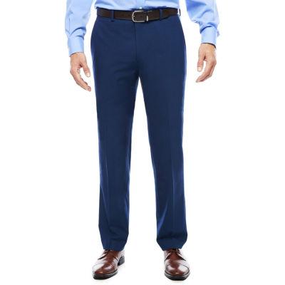 Men's JF J. Ferrar® Blue Stretch Flat-Front Slim Fit Suit Pants