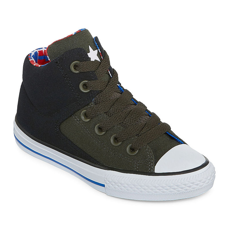 image of Converse Chuck Taylor All Star High Street - Hi Boy-s Sneakers-ppr5007205568