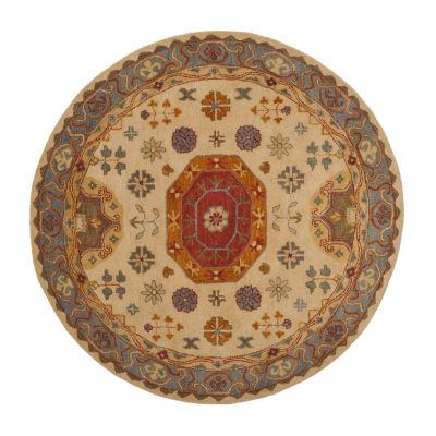 Safavieh Heritage Collection Bryony Oriental Round Area Rug