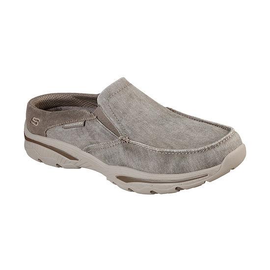 Skechers Mens Creston-Backlot Closed Toe Slip-On Shoe