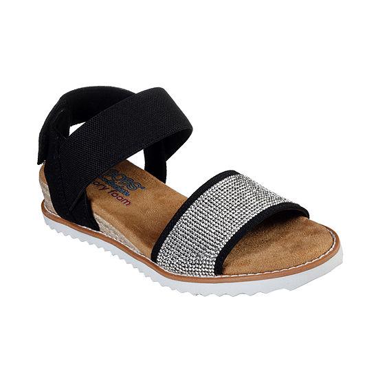 Skechers Bobs Womens Desert Kiss - Twinkle Twinkle Strap Sandals