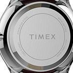 Timex Womens Red Leather Strap Watch-Tw2t72200jt