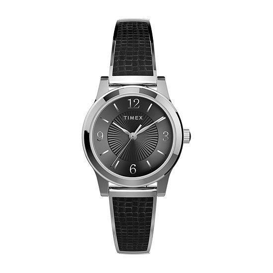 Timex Womens Silver Tone Stainless Steel Expansion Watch-Tw2t67100jt
