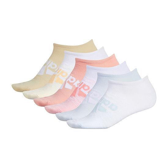 adidas Superlite Badge Of Sport 6 Pair No Show Socks -Womens