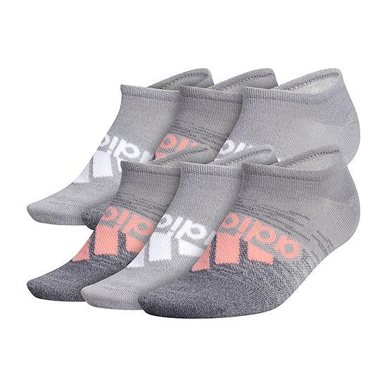 adidas Superlite Badge Of Sport 6 Pair No Show Socks -  Womens