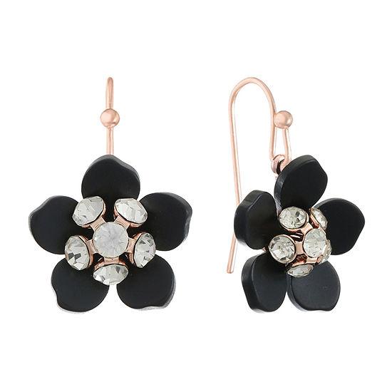 Mixit Flower Drop Earrings