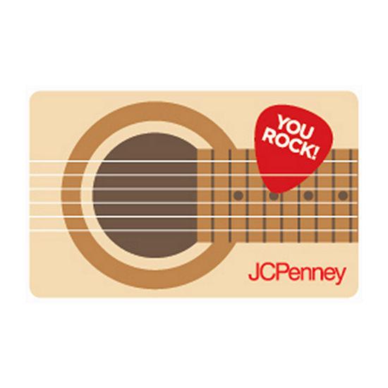 Guitar Gift Card