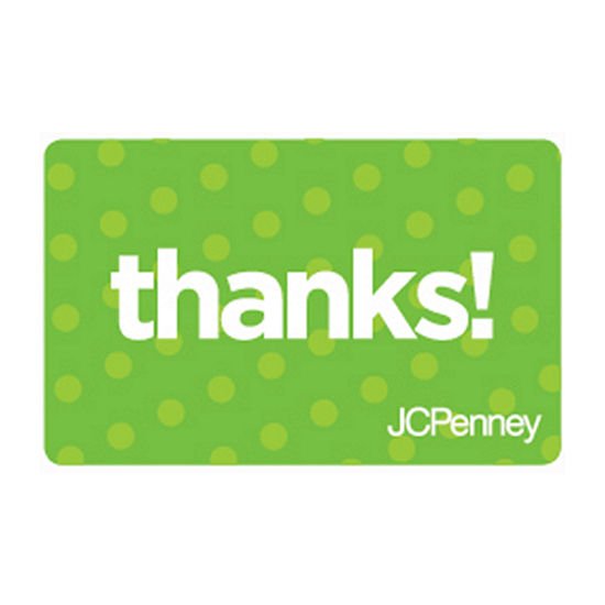 Green Thanks Gift Card