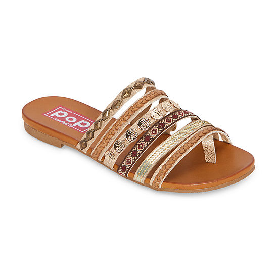 Pop Womens Damini Flat Sandals
