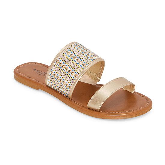 Arizona Womens Gitta Flat Sandals