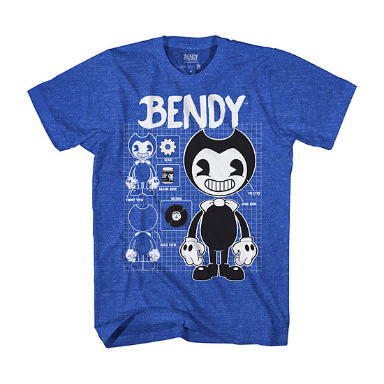 Little & Big Boys Crew Neck Bendy Short Sleeve Graphic T-Shirt