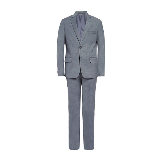 Van Heusen Boys 2-pc. Pant Suit-Big Kid