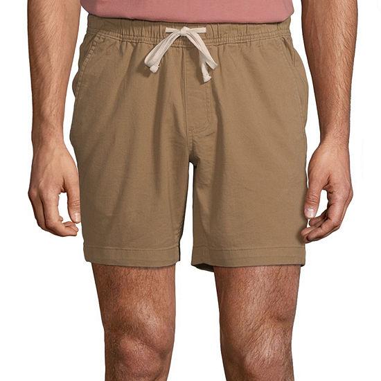St. John's Bay Mens Pull-On Short