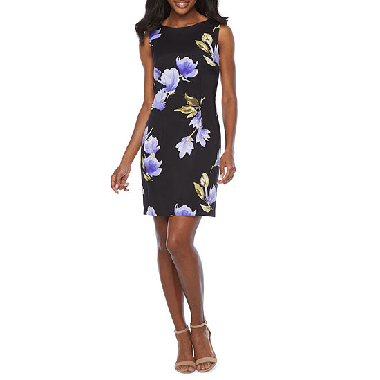 Alyx Sleeveless Floral Sheath Dress
