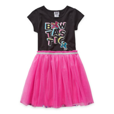 Jojo Siwa Jojo - Little Kid / Big Kid Girls Short Sleeve Tutu Dress