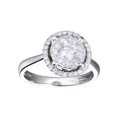 Brilliant Dream™  3/4 CT. T.W. Round Diamond Engagement Ring