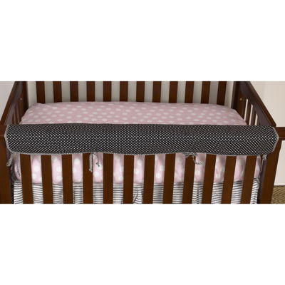 Cotton Tale Poppy Crib Rail Cover