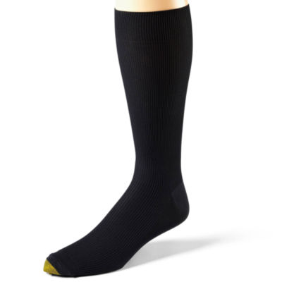 Gold Toe® 3-pk. Dress Metropolitan Crew Socks–Extended Sizes