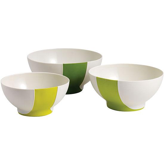 Chef'n® Sleekstor™ Pinch+Pour 3-pc. Mixing Bowl Set