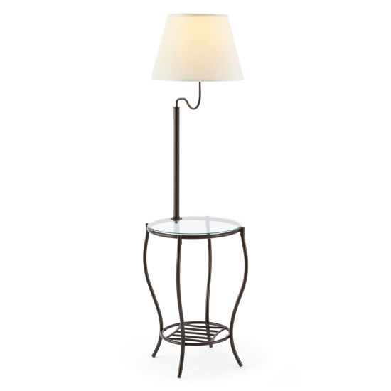 JCPenney Home™ Bronze Floor Lamp with Side Table