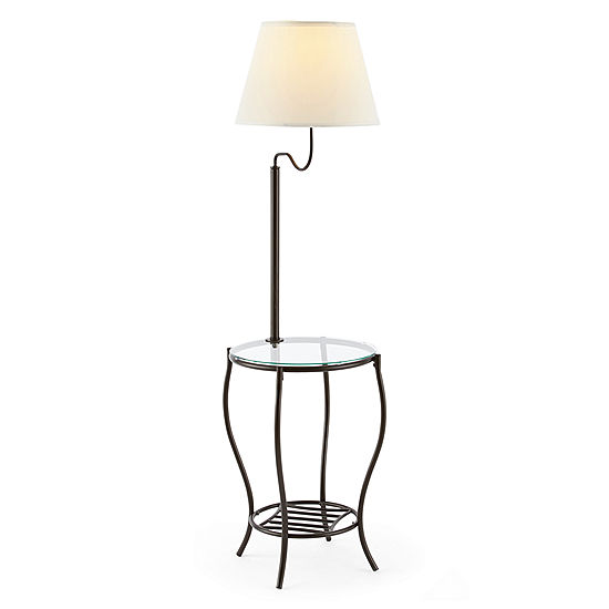 Jcpenney Table: JCPenney Home Bronze Floor Lamp With Side Table JCPenney