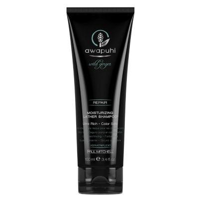 Awapuhi Wild Ginger Moisture Lather Shampoo - 3.4 oz.
