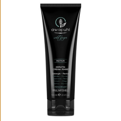 Awapuhi Wild Ginger Keratin Cream Rinse Conditioner - 3.4 oz.