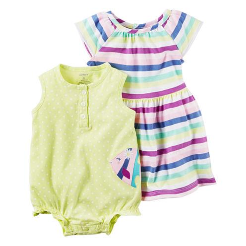 Carter's 2-pc. Layette Set-Baby Girls