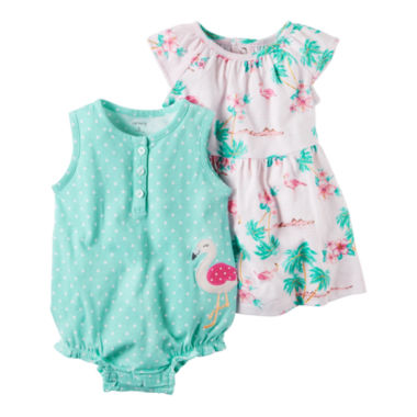 Carter's 2-pc. Layette Set-Baby Girls