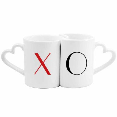 Cathy's Concepts 10 oz XOXO Coffee Mug Set