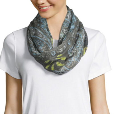 Libby Edelman Infinity Floral Scarf