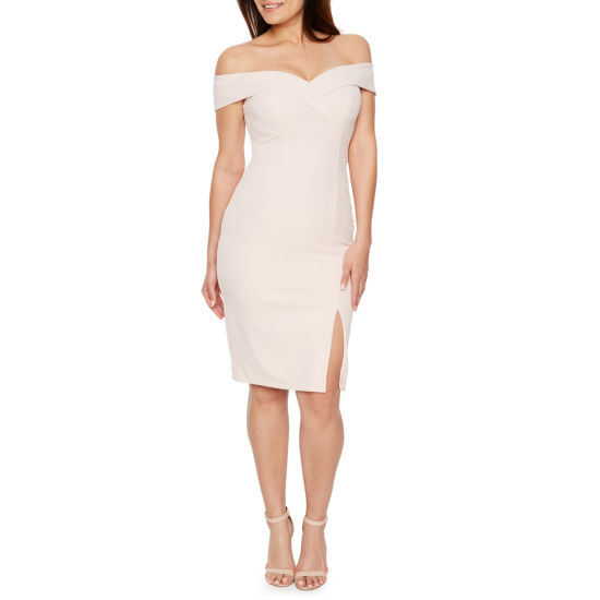 Premier Amour Off The Shoulder Sheath Dress