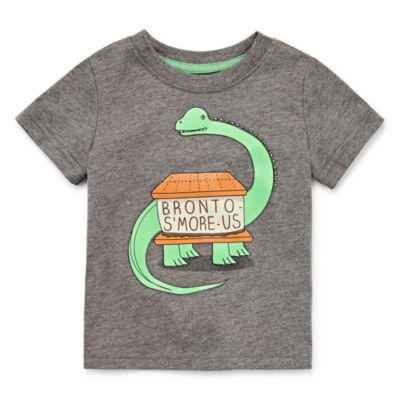 Okie Dokie Graphic Print Short Sleeve Tee - Baby Boy NB-24M