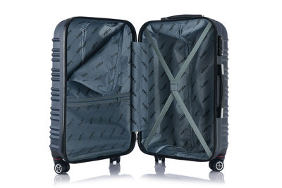 InUSA New York Lightweight Hardside Spinner 3-pc. Luggage Set