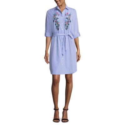 Alyx 3/4 Sleeve Shirt Dress