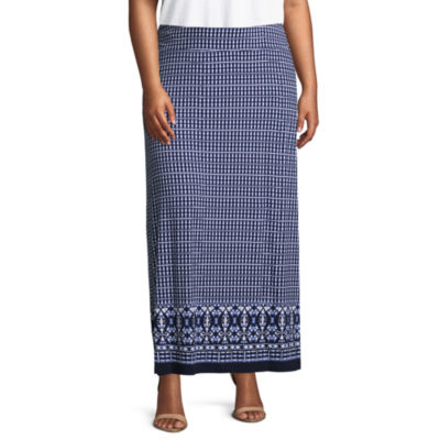 Liz Claiborne Maxi Skirt- Plus