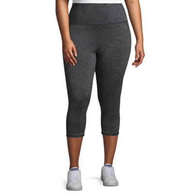 Gaiam® Om High Rise Quick Dry Capri Leggings - Plus