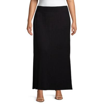 a.n.a Maxi Skirt - Plus