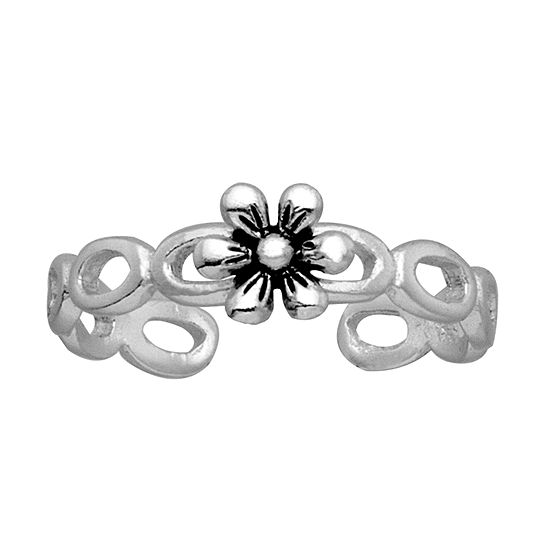 Itsy Bitsy Sterling Silver Womens Delicate Toe Ring