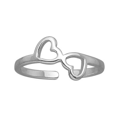 Itsy Bitsy Womens Sterling Silver Delicate Toe Ring