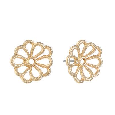 Monet Jewelry 16mm Stud Earrings