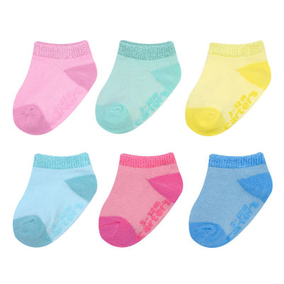 Carter's 6 Pair Low Cut Socks