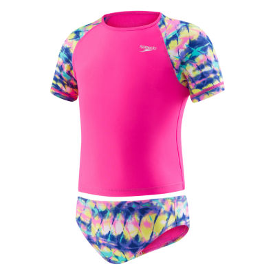 Speedo Girls Tankini Set - Preschool