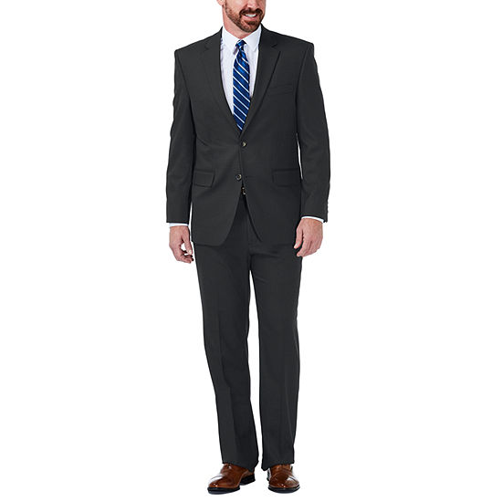 JM Haggar Stretch Grid Classic Fit Suit Jacket
