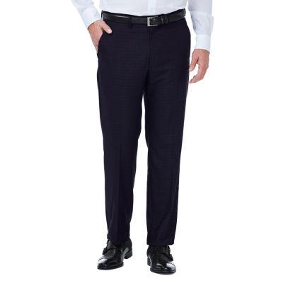 JM Haggar Stretch Deco Classic Fit Flat Front Suit Pants